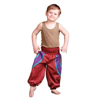Pantaloni per bambini Atau Merah | 3-4 anni, 4-6 anni, 6-8 anni, 8-10 anni