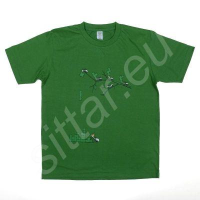 T-shirt costruzione formicaio