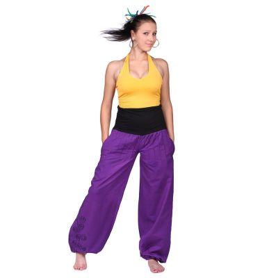 Pantaloni harem Sulaman Ungu | S/M, L/XL