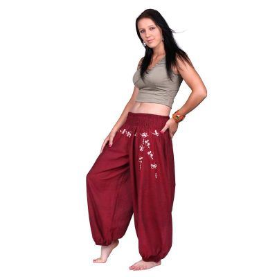 Pantaloni ricamati Sabuk Merun | S/M, L/XL