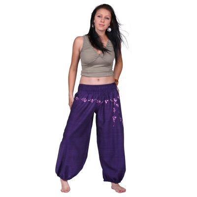 Pantaloni Sabuk Ungu