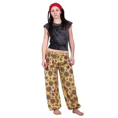 Pantaloni nepalesi Gisan Kuning | UNISIZE