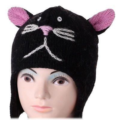 Cappello di lana Black Cat