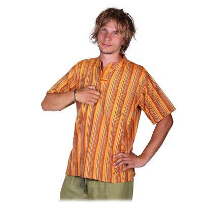 Kurta Pendek Astam - camicia da uomo con maniche corte   S, M, L, XL, XXL, XXXL