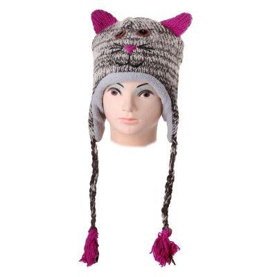 Cappello di lana Tabby Cat   L