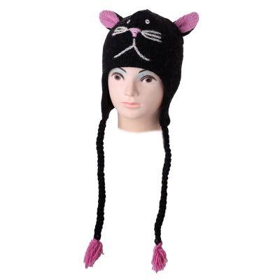 Cappello di lana Black Cat   M, L