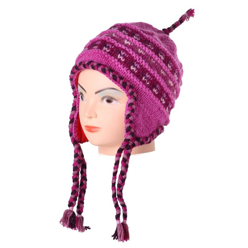 Cappello in lana Annapurna Pink