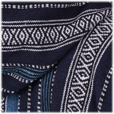 Giacca etnica da uomo Besar Berat Blue Nepal