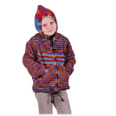 Maglione di lana Rainbow Flight | S, M, L, XL, XXL