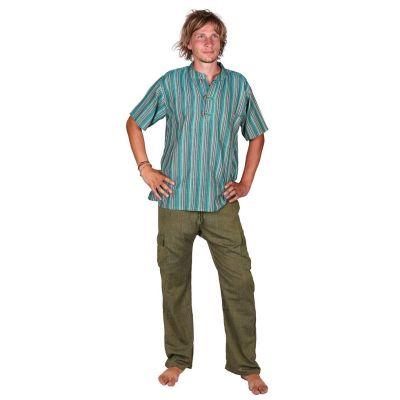 Pantaloni Saku Hijau
