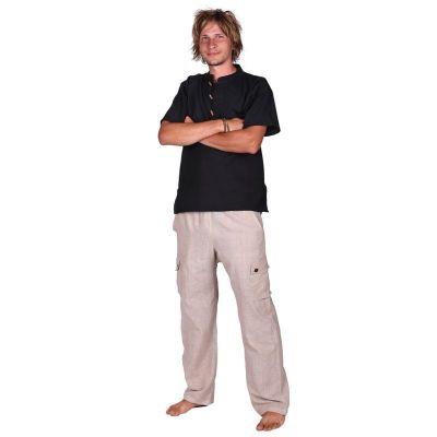 Pantaloni Saku Putih