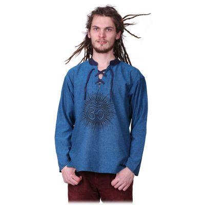 Kurta Matahari Pirus - maglia a maniche lunghe da uomo   M