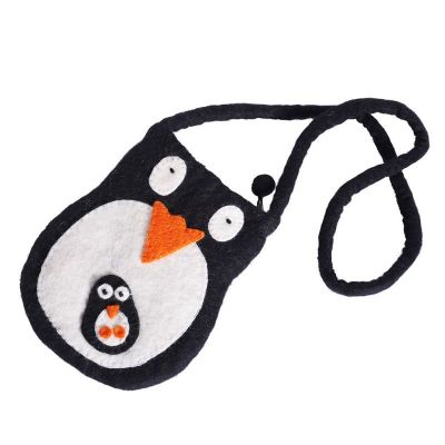 Borsetta in feltro Pinguino