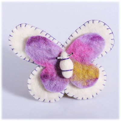 Spilla Farfalla Bianca