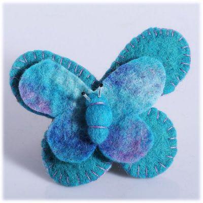 Spilla Farfalla Turchese