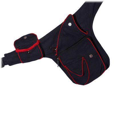 Cintura portamonete Lipatan Hitam