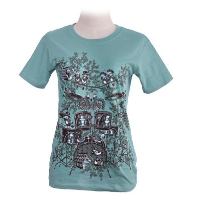 T-shirt Drum Set Verde